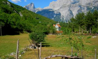 Walking the Albanian Alps