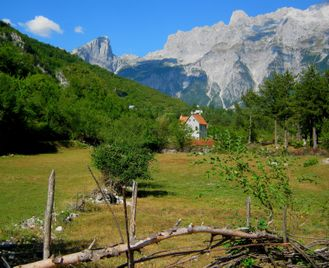 Walking the Albanian Alps