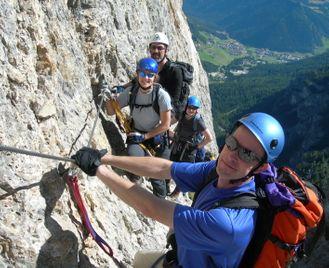 Dolomites Via Ferrata