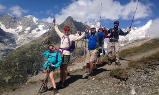 Family Tour du Mont Blanc Walking Week