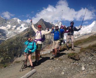 Family Tour du Mont Blanc Walking Week