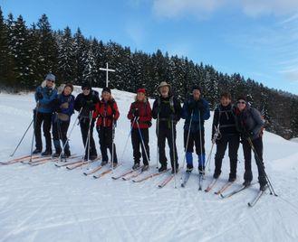 Traverse of the Jura Ski Tour - France