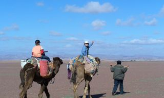 Morocco Family Adventure Desert Trek