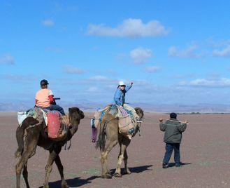 Morocco Family Adventure Desert Trek