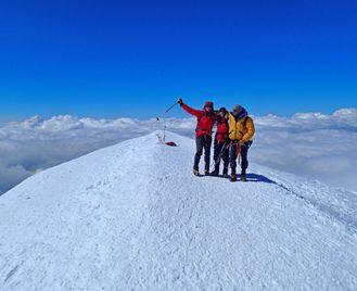Climb Mont Blanc and Gran Paradiso