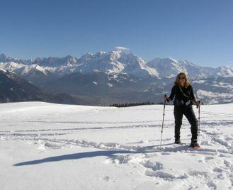 Mont Blanc Snowshoe Week