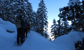 High Level Pyrenees Snowshoe Holiday