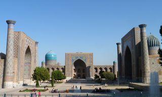 Samarkand and the Silk Road