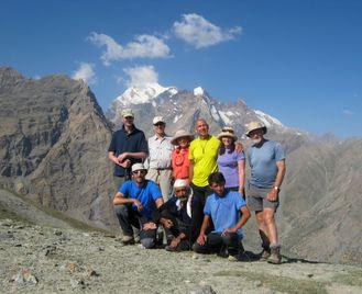 The Ultimate Fann Mountains Trek