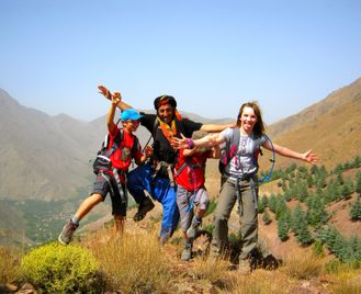 Family Teenage Toubkal Ascent, Morocco