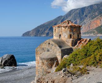 Walking the White Mountains of Crete