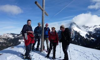 Snowshoe Traverse of the Chablais