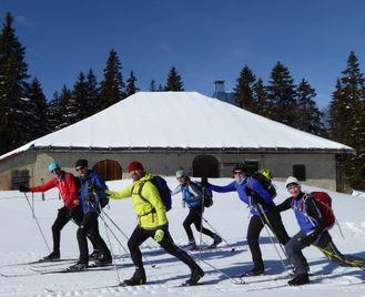 Traverse of the Jura Ski Tour - Switzerland