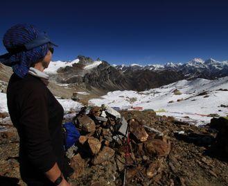 Kangchenjunga to Makalu via the Lumba Sumba La