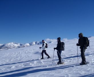Bulgarian Snowshoe Adventure