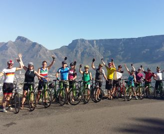 Cape Town and the Winelands Cycle Tour