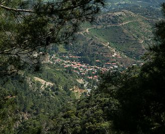 Fly drive holiday to Paphos, Nicosia and the Troodos Mountains