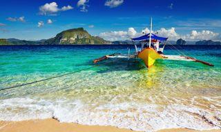 Paradise islands of the Visayas