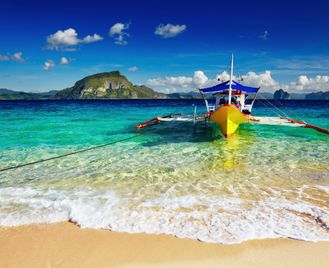 Paradise islands of the Visayas