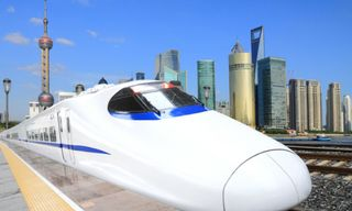 China by high speed train