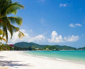 Beautiful beaches of Malaysia
