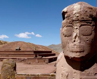 Andean Bolivia from Peru