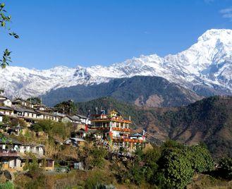 The Sherpa's trail: trekking in Nepal