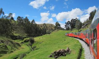 Ecuador by river & rail: Amazon cruise & Tren Crucero