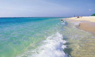 City & beach: Tokyo and Okinawa