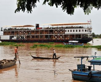 Cruising the Mekong from Saigon to Siem Reap