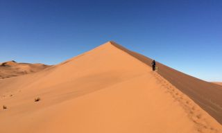 Remote Namibia honeymoon safari