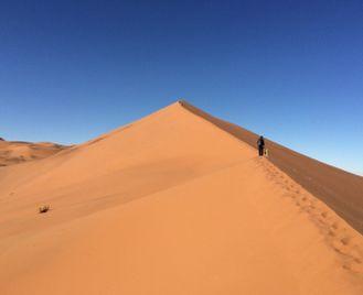 Remote Namibia honeymoon safari