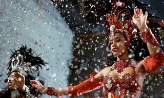 Brazil's carnival celebrations: Rio de Janeiro Iguacu Falls