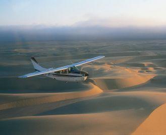 Luxury Namibia flying safari