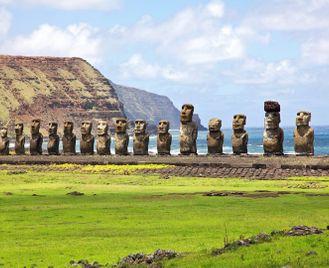 Machu Picchu and Easter Island
