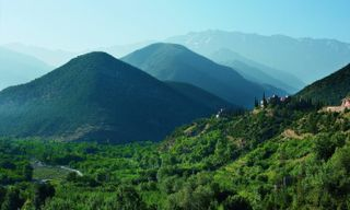 Trekking in the High Atlas Mountains