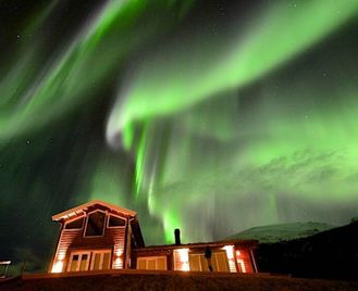 Lyngen Lodge And The Northern Lights