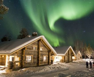 Northern Lights At Nellim