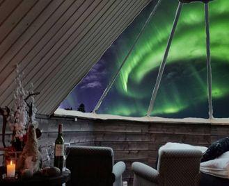 Winter At Wilderness Hotel Muotka