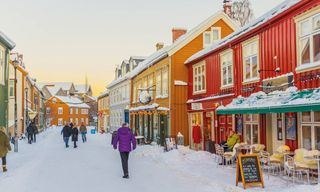 The Polar Express, Trondelag & The Arctic