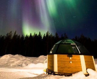 Glass Igloo And Ice Hotel Holiday In Finnish Lapland