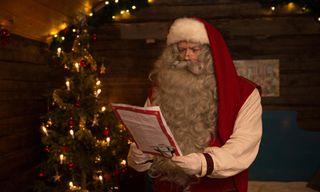 Finnish Lapland: Santa In Rovaniemi