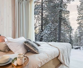 Luxury Santa Break At The Arctic Treehouse Hotel