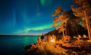 Finland's Autumn Auroras
