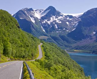 Polar Express, The Golden Road And The Lofoten Islands