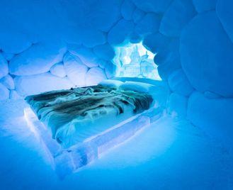 Tromso Ice Domes Break