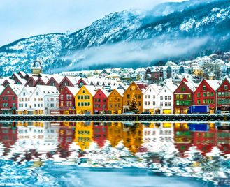 Norway's Fjords And The Northern Lights