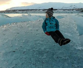 Iceland: Winter Road Trip For Families With Children