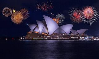 Australia: New Year's Celebration In Sydney