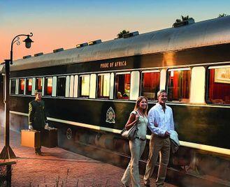 South Africa: Train Safari For Honeymooners